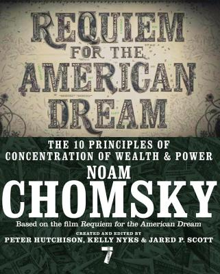 Book Cover,  Requiem for the American Dream by Noam Chomsky