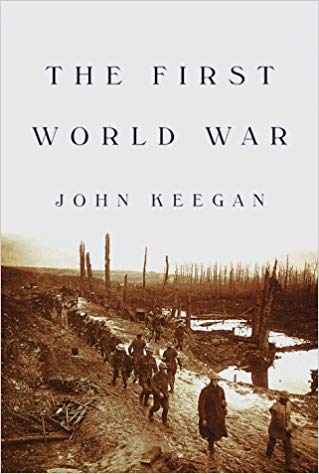 Cover Picture of The First World War by John Keegan