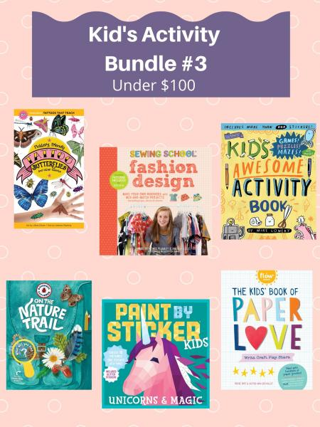 Kid's Activity Bundle #3 Under $100