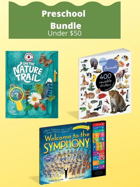 Preschool Bundle Under $50