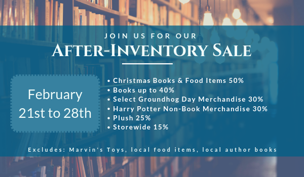 After-Inventory Sale from February 21st to 28th